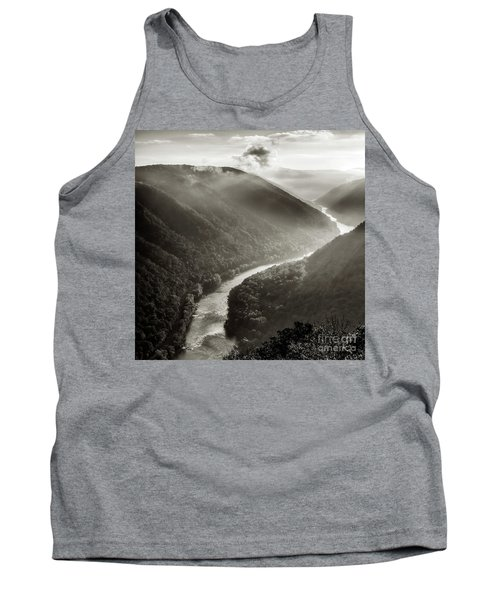 Grandview In Black And White Tank Top