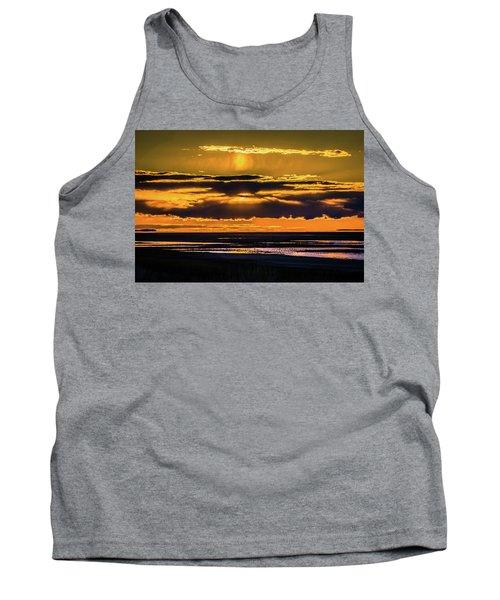 Great Salt Lake Sunset Tank Top