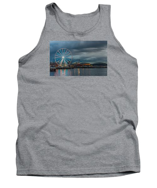 Tank Top featuring the photograph Great Wheel by Jerry Cahill