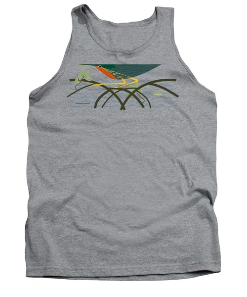 Green Heron Tank Top