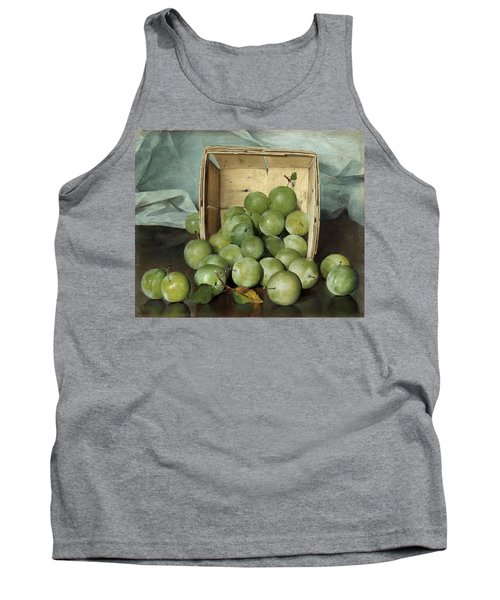 Green Plums Tank Top