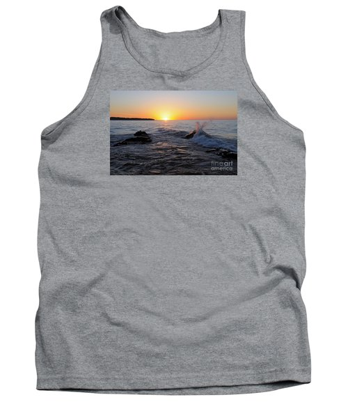 Tank Top featuring the photograph Here Comes The Sun by Sandra Updyke
