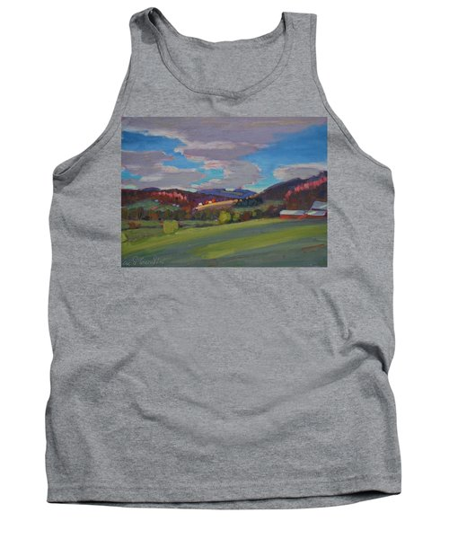 Hills Of Upstate New York Tank Top