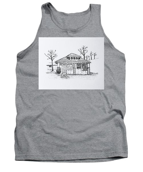 Hole In The Wall Books Tank Top