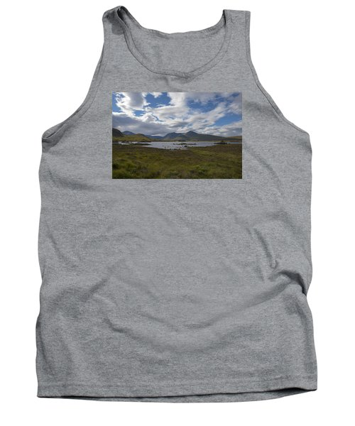 Tank Top featuring the photograph In Glencoe Uk by Dubi Roman