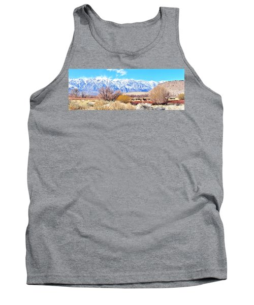 In The Valley Tank Top by Marilyn Diaz