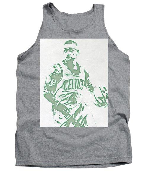 Isaiah Thomas Boston Celtics Pixel Art Tank Top