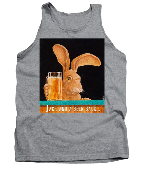 Jack And A Beer Back... Tank Top