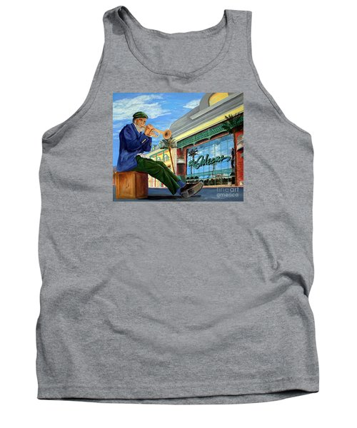 Jazz At The Orleans Tank Top by Vicki  Housel