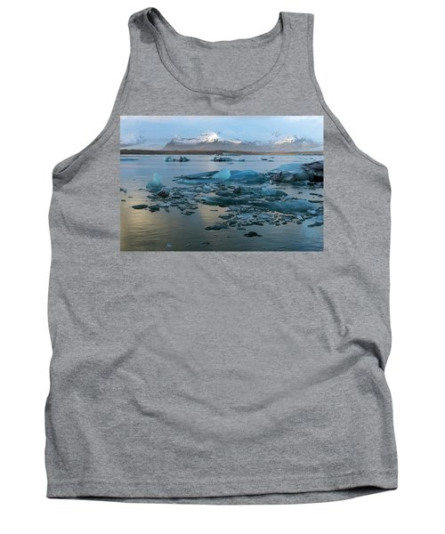 Tank Top featuring the photograph Jokulsarlon, The Glacier Lagoon, Iceland 5 by Dubi Roman