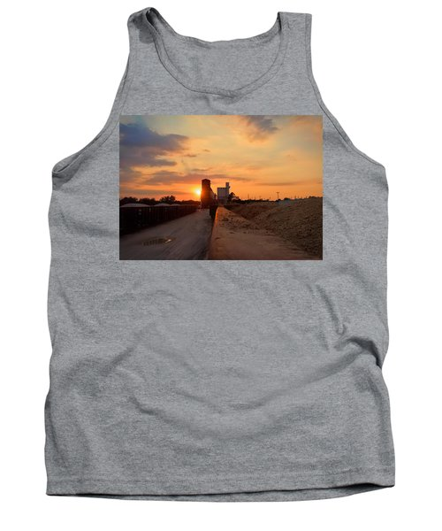 Katy Texas Sunset Tank Top