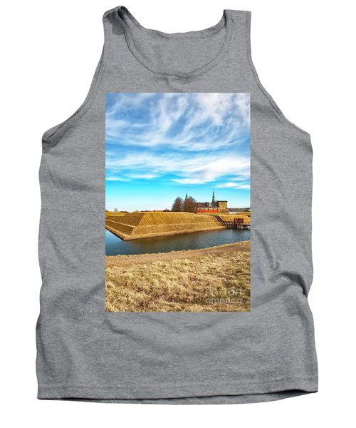 Tank Top featuring the photograph Kronborg Castle In Helsingor by Antony McAulay