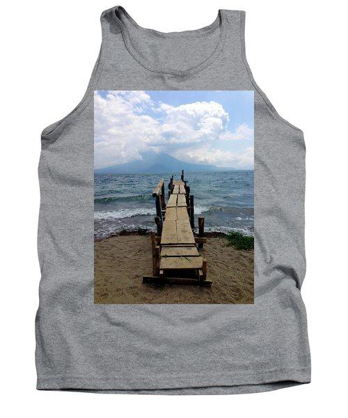 Lake Atitlan Dock Tank Top