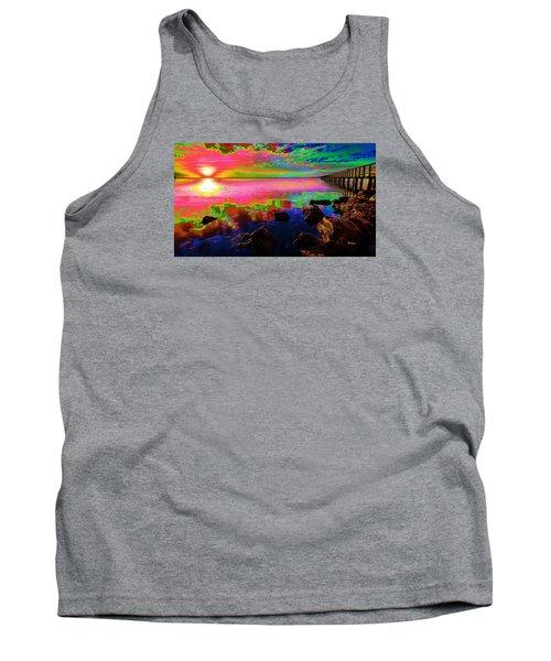 Lake Sunset Tank Top