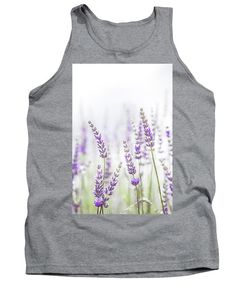 Lavender Flower In The Garden,park,backyard,meadow Blossom In Th Tank Top