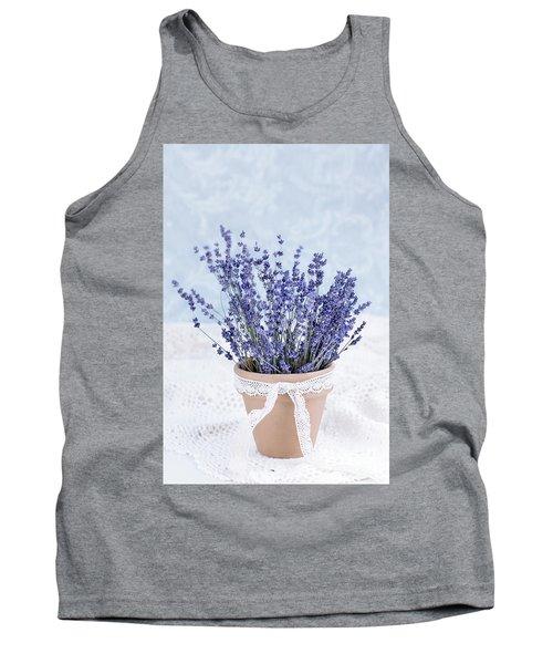 Lavender Tank Top by Stephanie Frey