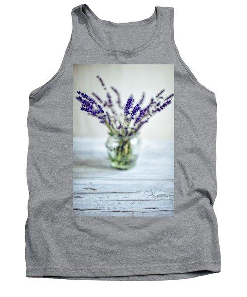 Lavender Still Life Tank Top