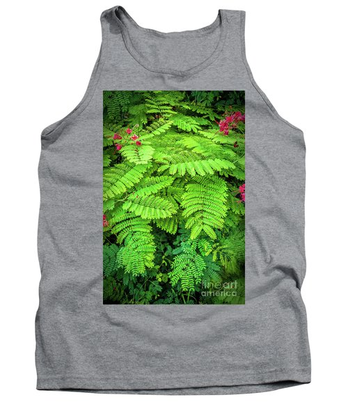 Tank Top featuring the photograph Leaves by Charuhas Images