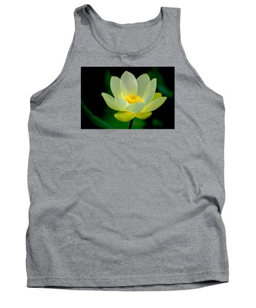 Lotus Blossom Tank Top by Tyson and Kathy Smith