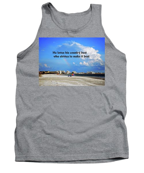 Love Of Country Tank Top