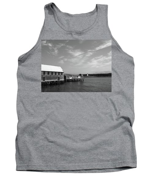 Lubec, Maine Tank Top by Trace Kittrell