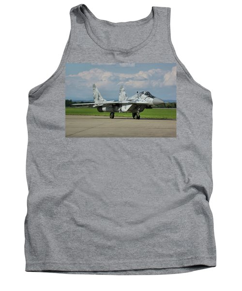 Tank Top featuring the photograph Mikoyan-gurevich Mig-29as by Tim Beach