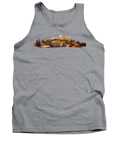 Mirror Finish Tank Top by Troy Rider