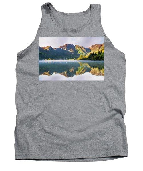 Misty Dawn Lake Tank Top