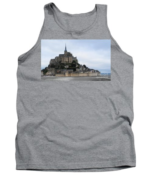 Mont St Michel Tank Top by Therese Alcorn