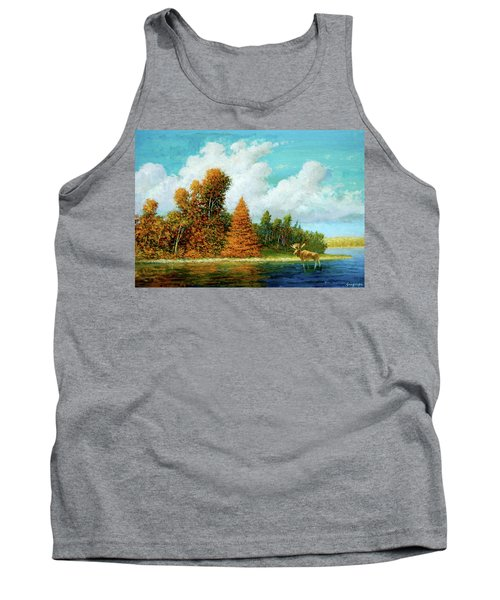 Moose Country Tank Top