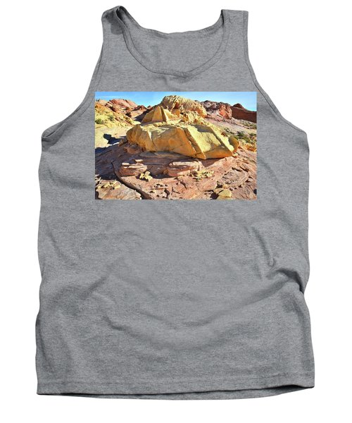 Morning In Wash 3 In Valley Of Fire Tank Top