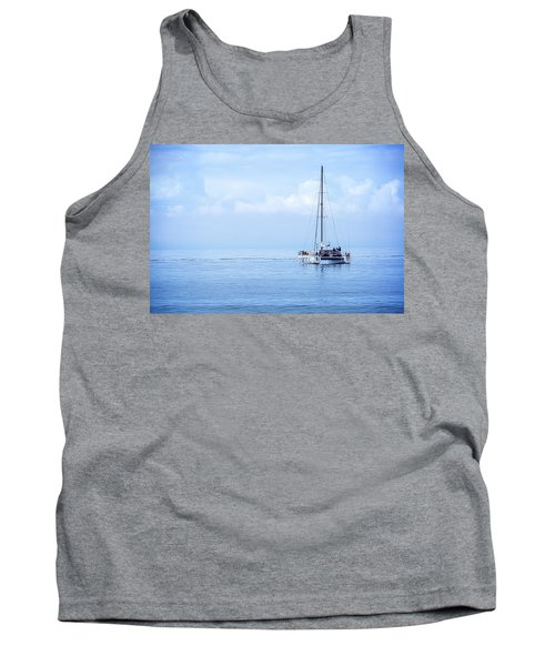 Morning Sail Tank Top by James Hammond