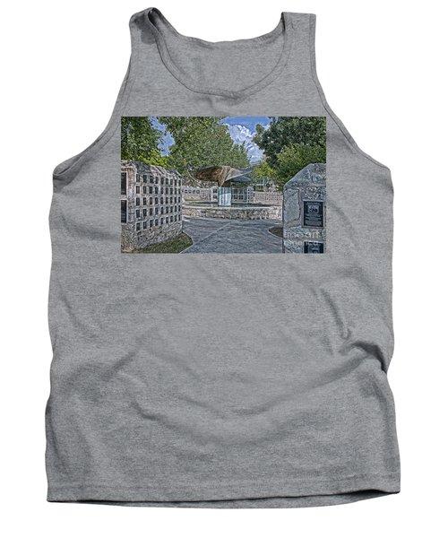 Nimitz Prop Fountain Tank Top