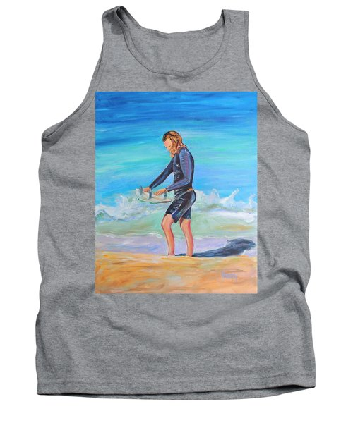 Tank Top featuring the painting Noah by Patricia Piffath