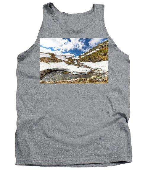 Norway Mountain Landscape Tank Top