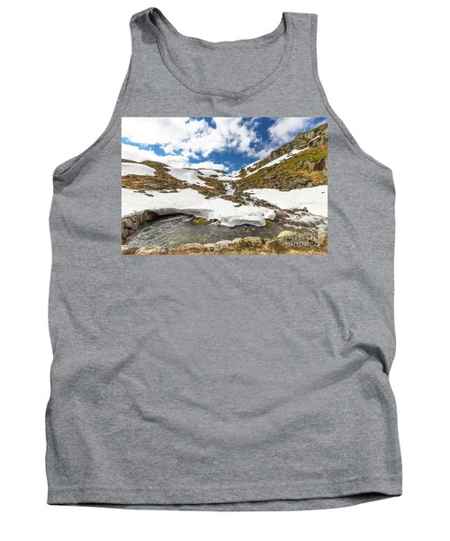 Norway Mountain Landscape Tank Top
