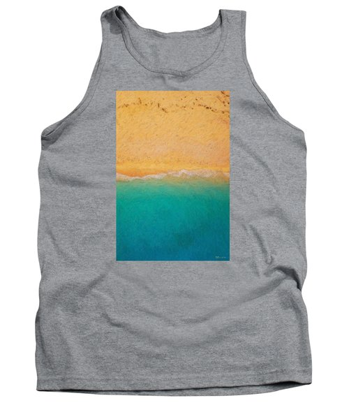 Not Quite Rothko - Surf And Sand Tank Top