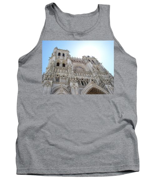 Notre-dame D'amiens Tank Top by Mary Mikawoz