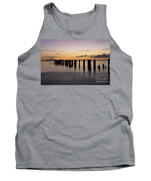 Tank Top featuring the photograph Old Naples Pier by Kelly Wade