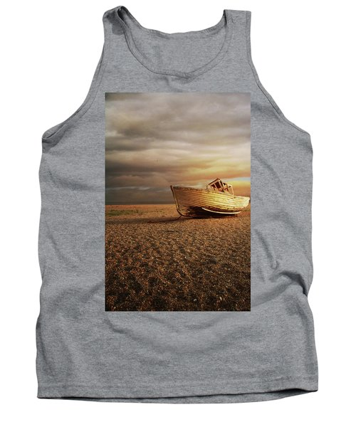 Old Wooden Boat Tank Top