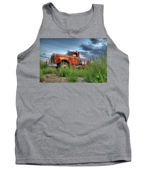 Orange Truck Tank Top