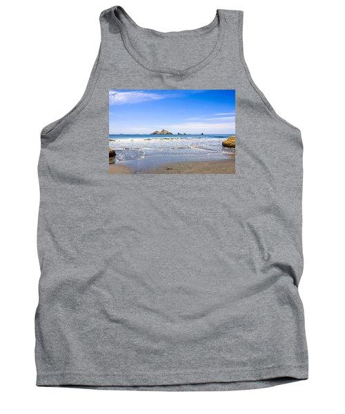 Pacific Coast California Tank Top by Chris Smith