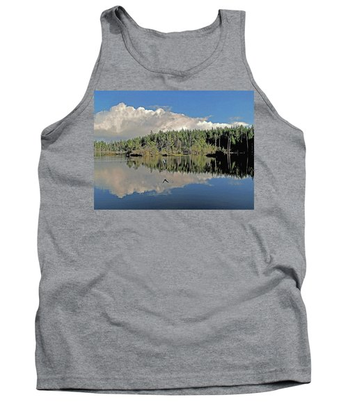 Tank Top featuring the photograph Pause And Reflect by Suzy Piatt