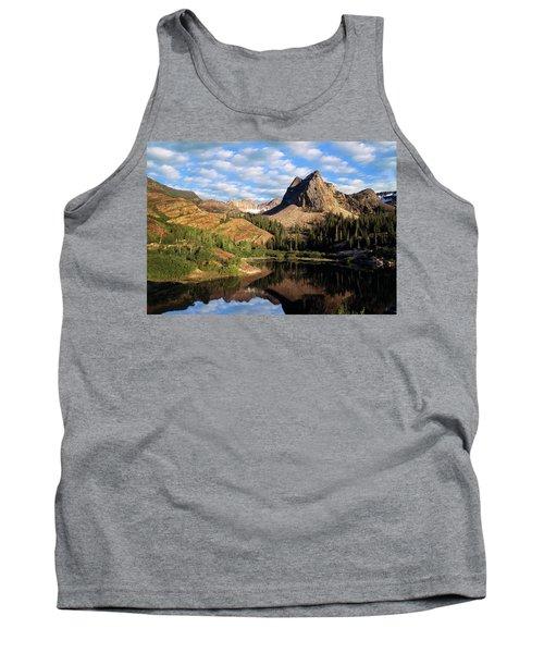 Peaceful Mountain Lake Tank Top