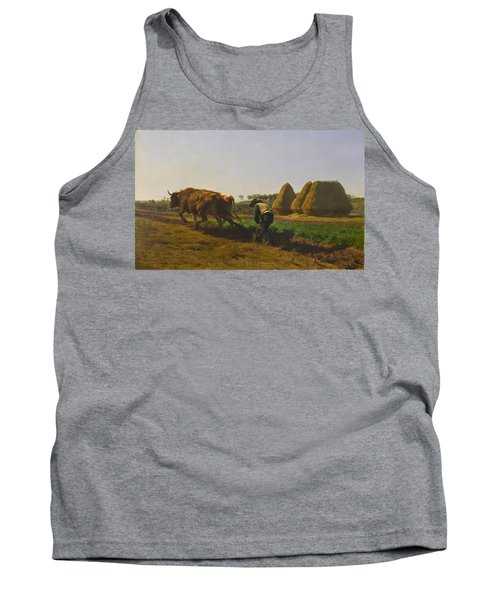 Ploughing Scene Tank Top