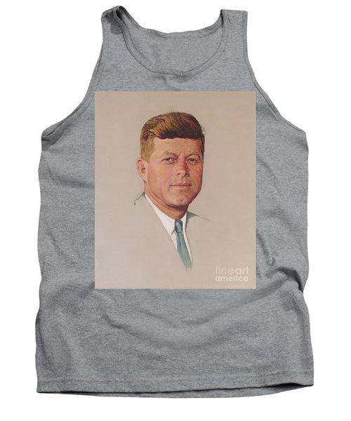 President John F. Kennedy Tank Top