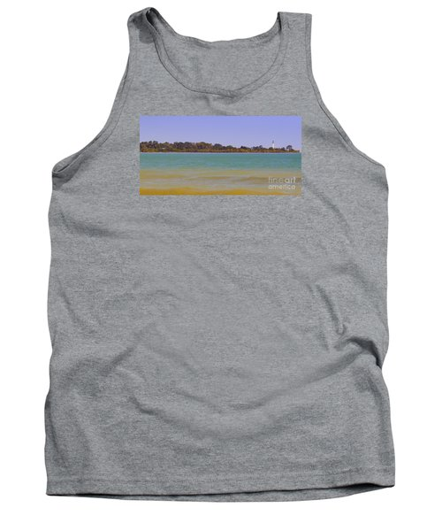 Tank Top featuring the photograph Racine Lakefront by Ricky L Jones