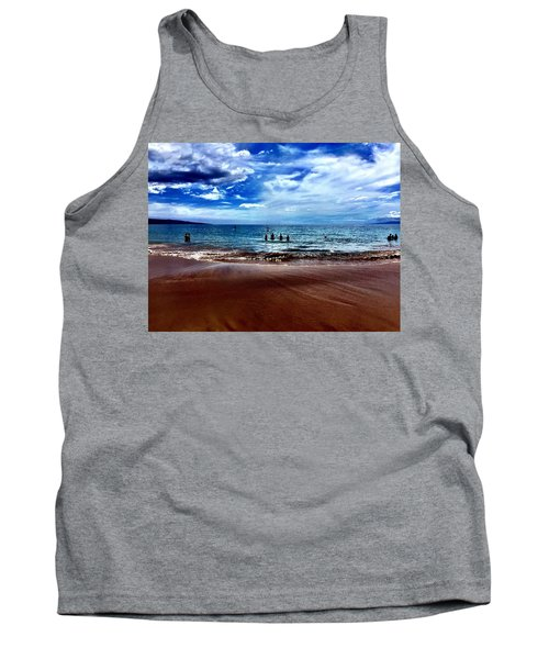 Relax Tank Top by Michael Albright