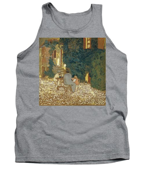 Repast In A Garden Tank Top