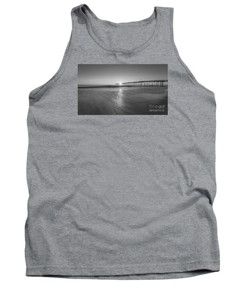 Rise And Shine At Nags Head Pier Tank Top